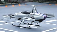 Japonya'da 'uçan araba' deneme uçuşu yapıldı!