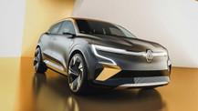 Fotoğraflarla Renault Megane eVision!
