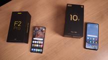 İki Xiaomi modeli karşı karşıya sanki Şampiyonlar ligi finali!