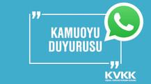 KVKK devreye girdi! Şimdi WhatsApp düşünsün! (Güncelleme)