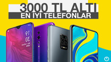3000 TL altı en iyi akıllı telefonlar! Daha iyilerini bulamazsınız