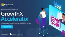 Microsoft, GrowthX Accelerator programıyla Türkiye'deki girişimlere destek olacak