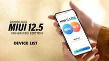 Mi ve  Redmi cihazları için MIUI 12.5 Enhanced Edition indirin!