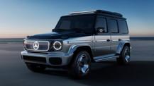 Mercedes-Benz EQG elektrikli küp!