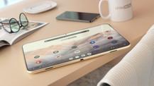 Gerçekçi tamamen çerçevesiz Google tablet!