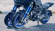 Yüksek performanslı, 3 tekerlekli canavar Yamaha Niken