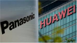 Huawei'ye bir darbe de Panasonic`ten!