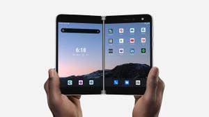 Karşınızda Microsoft'un katlanabilir telefonu: Surface Duo