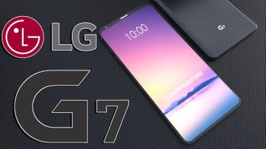 LG G7'de çentik krizi
