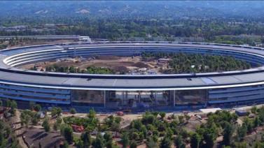 İşte karşınızda göz kamaştıran Apple Park! (Video)