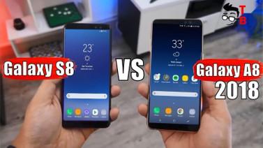 Galaxy A8 (2018) ile Galaxy S8 hız testinde karşılaştı!