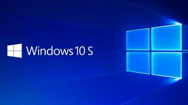 Windows 10 S'te değişiklik yapılıyor!