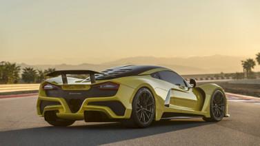 Dünyanın en hızlı otomobili Hennessey Venom F5