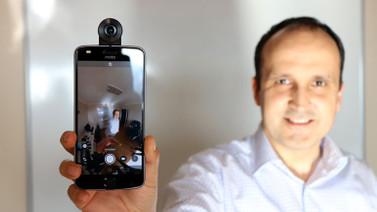 Motorola Moto 360 Camera elimizde