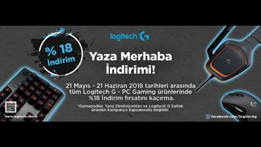 Logitech G PC Gaming ürünlerinde yüzde 18 indirim