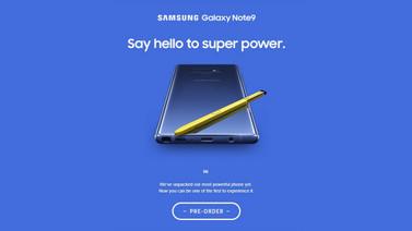 Samsung Galaxy Note 9 yanlışlıkla ön siparişe açıldı!
