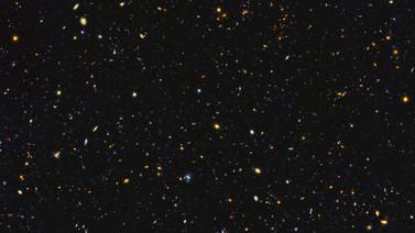 Hubble'dan uzay panoraması