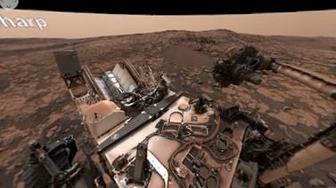 Curiosity'den 360 derecelik selfie