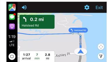 Apple CarPlay Google Haritalar desteğine kavuştu