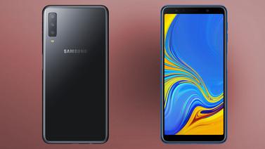 Üç arka kameralı Samsung Galaxy A7 (2018) tanıtıldı