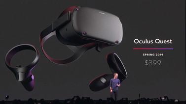 Facebook'un VR ısrarı sürüyor: Oculus Quest