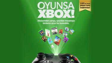 Xbox Türkiye'den indirimler geliyor!
