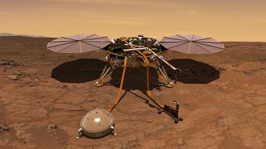 NASA, Mars rüzgarının sesini paylaştı (Video)