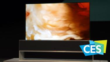 LG'nin kıvrılabilir televizyonuna göz attık (video)