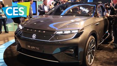 Dev ekranlı  otomobil: Byton M-Byte (video)