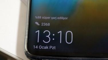Huawei Mate 20 Pro pil ömrü ve hızlı şarj