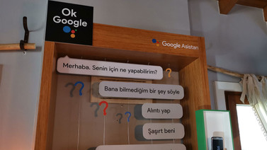 Google Asistan evini gezdik (video)