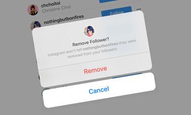 Instagram'da takipçi silme dönemi başlıyor
