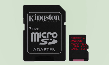 Kingston 256 GB kapasiteli microSD bellek üretti