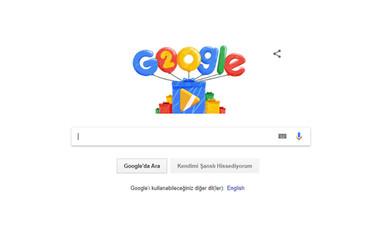 Google 20 yaşını Doodle ile kutluyor!