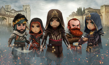 Assassin's Creed Rebellion duyuruldu!