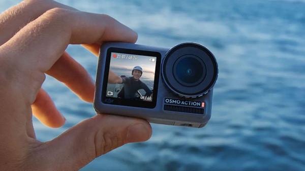 Fotoğraflarla DJI Osmo aksiyon kamerası