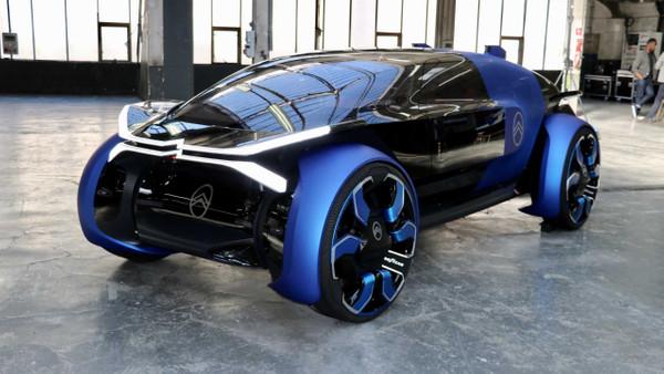 Geleceğin otomobili Citroen 19_19 Concept
