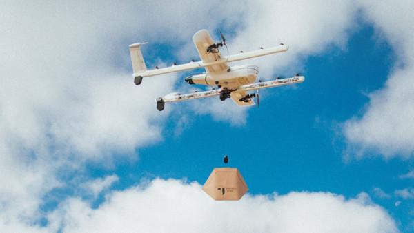Alphabet Finlandiya'da drone ile teslimat yapacak