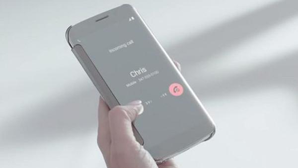 Samsung'dan Galaxy S6 ve S6 Edge'in şık görünümlü kılıfları için tanıtım videosu
