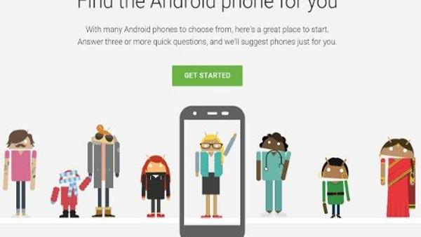 Google size en mükemmel Android akıllı telefonu öneriyor!