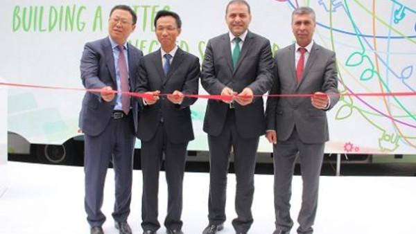 Huawei Orta Asya Teknoloji Turu Türkiye'den başladı