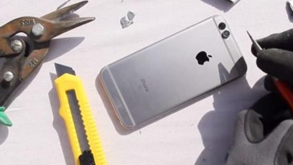 iPhone 6S'i iPhone 7'ye çevirdiler! (Video)