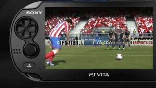 PS Vita'da FIFA'yı güncel kadrolar ile oynayın!