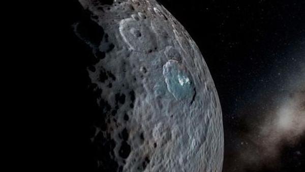 Cüce gezegen Ceres'te 3 boyutlu gezintiye çıkıyoruz