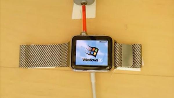 Apple Watch'ta Windows 95 çalıştırıldı