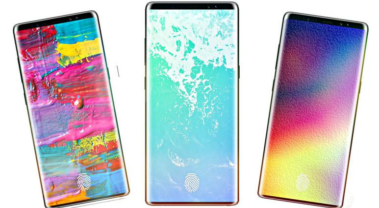 Galaxy S9 ve Galaxy S9+ görüntüleri