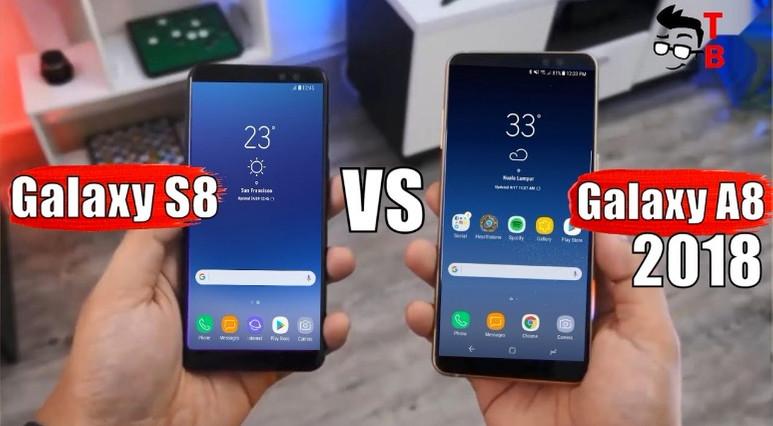Galaxy A8 2018 ve Galaxy S8 kameraları karşı karşıya!