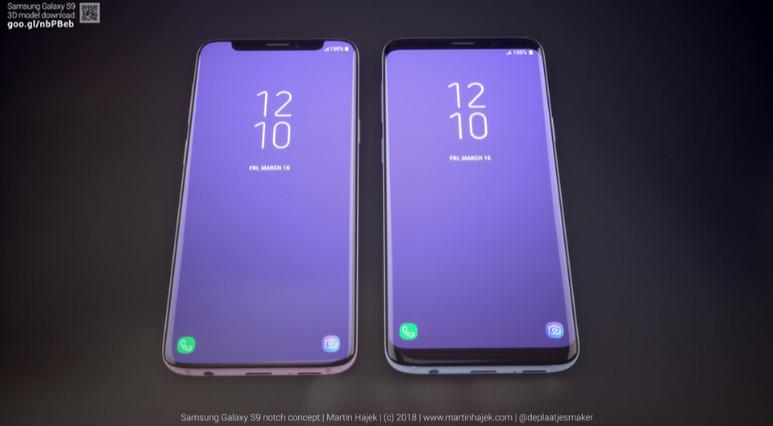 Samsung Apple'ın çentiğini kopyalamış olsaydı S9 nasıl olurdu?