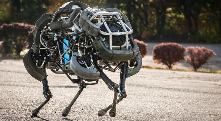 Robot Cheetah'tan şaşırtıcı hareketler!
