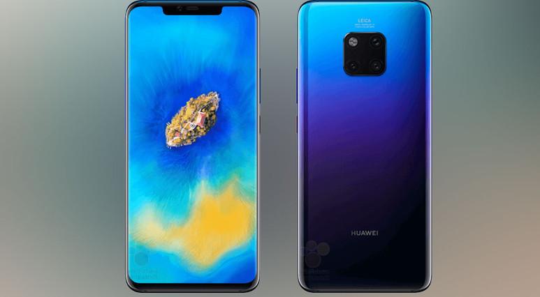 Huawei Mate 20 Pro tanıtılmadan kutudan çıktı